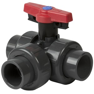 True Union 2000 3-Way Ball Valves