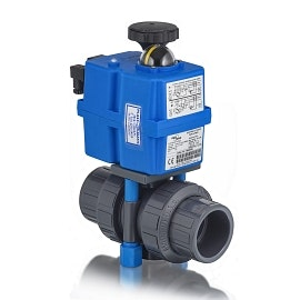 Premium Multi-Voltage Actuated Ball Valve