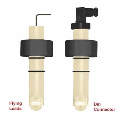 LS Series PP/PVDF Body Plastic Paddle Wheel Flow Transmitter