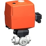 Type 107 Electrically Actuated Ball Valve