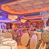 The Cristal Ballroom set for a Sweet Sixteen