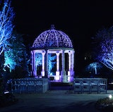 Enjoy breathtaking photo opportunities by the Marble Gazebo