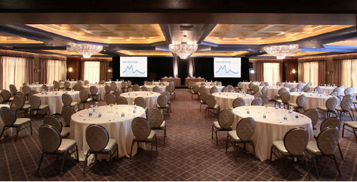 wedding destinations in new jersey%0A     The Cristal Ballroom set up for a conference