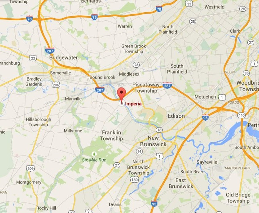Directions to the imperia for Directions to garden state parkway south