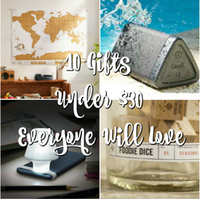 10 Gifts Under $30 Everyone Will Love
