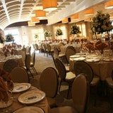 The Regalia Ballroom set for a dinner