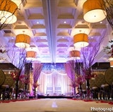The Regalia Ballroom set for a Indoor Ceremony
