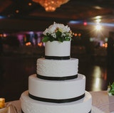 A Custom Wedding Cake - standard with every Wedding Package