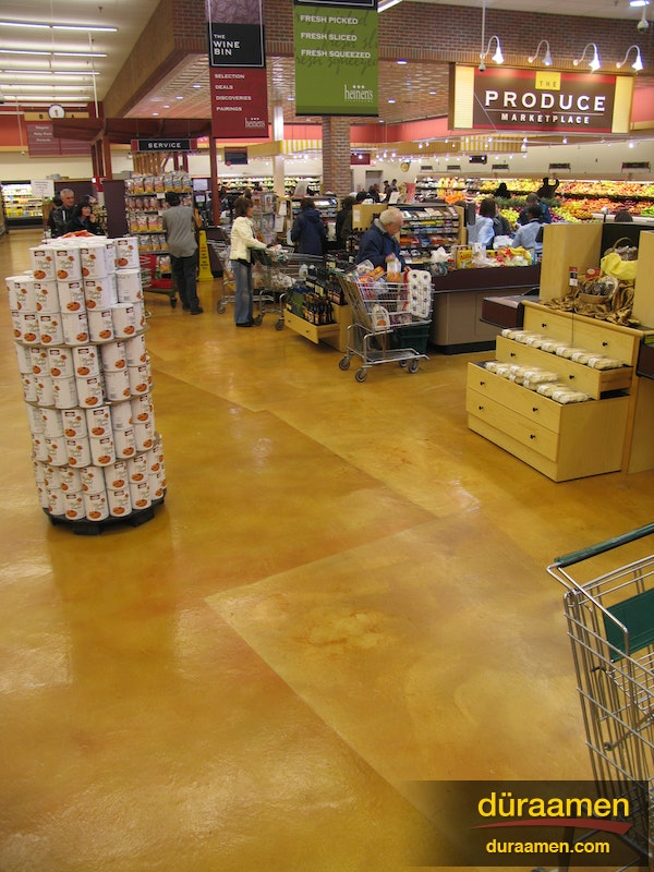 Concrete Flooring In A Grocery Store Hudson Oh