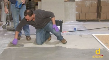 How to Encapsulate Vinyl Tile with a Concrete Topping (thumbnail)