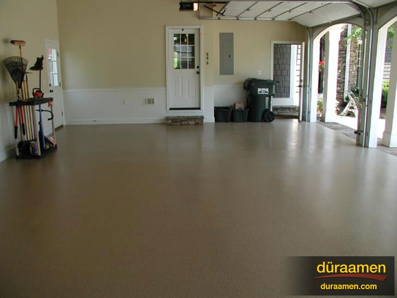 Highly Durable Resin Chip Flooring Using Epoxy And