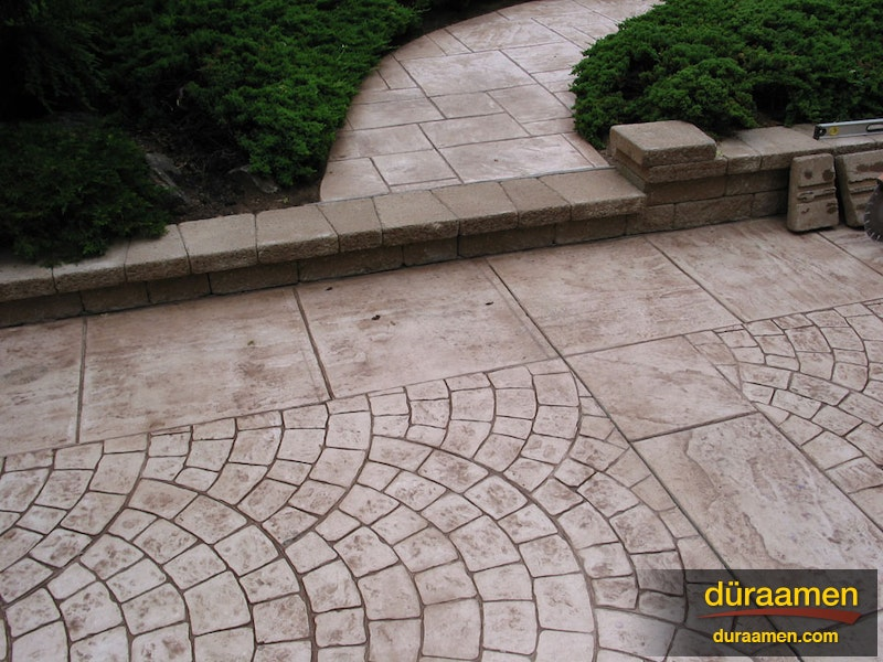 Examples of exterior concrete resurfacing and stamped concrete - Exterior concrete resurfacing products ...