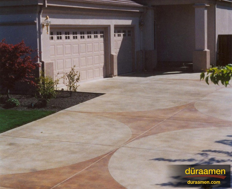 Examples Of Exterior Concrete Resurfacing And Stamped Concrete